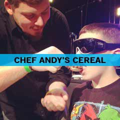 Chef Andy's Mystery Cereal Surprise