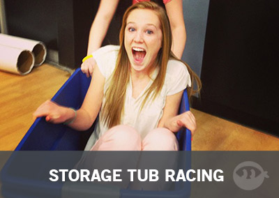 Storage Tub Racing