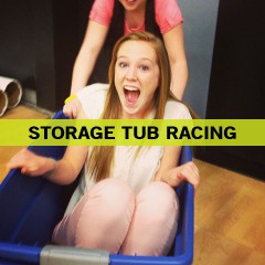 Storage Tub Racing