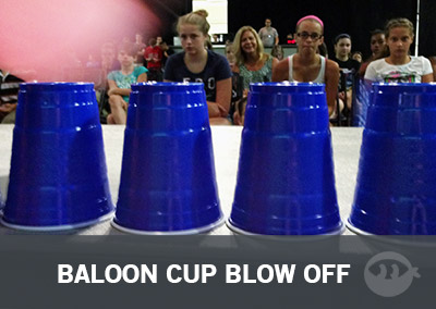 Balloon Cup Blow Off