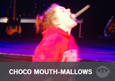 Chocolate Mouth-Mallows