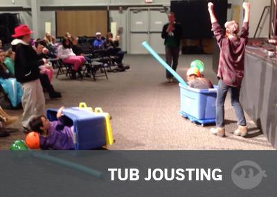 Tub Jousting