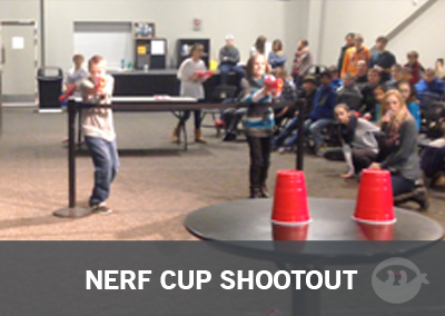 Nerf Cup Shootout