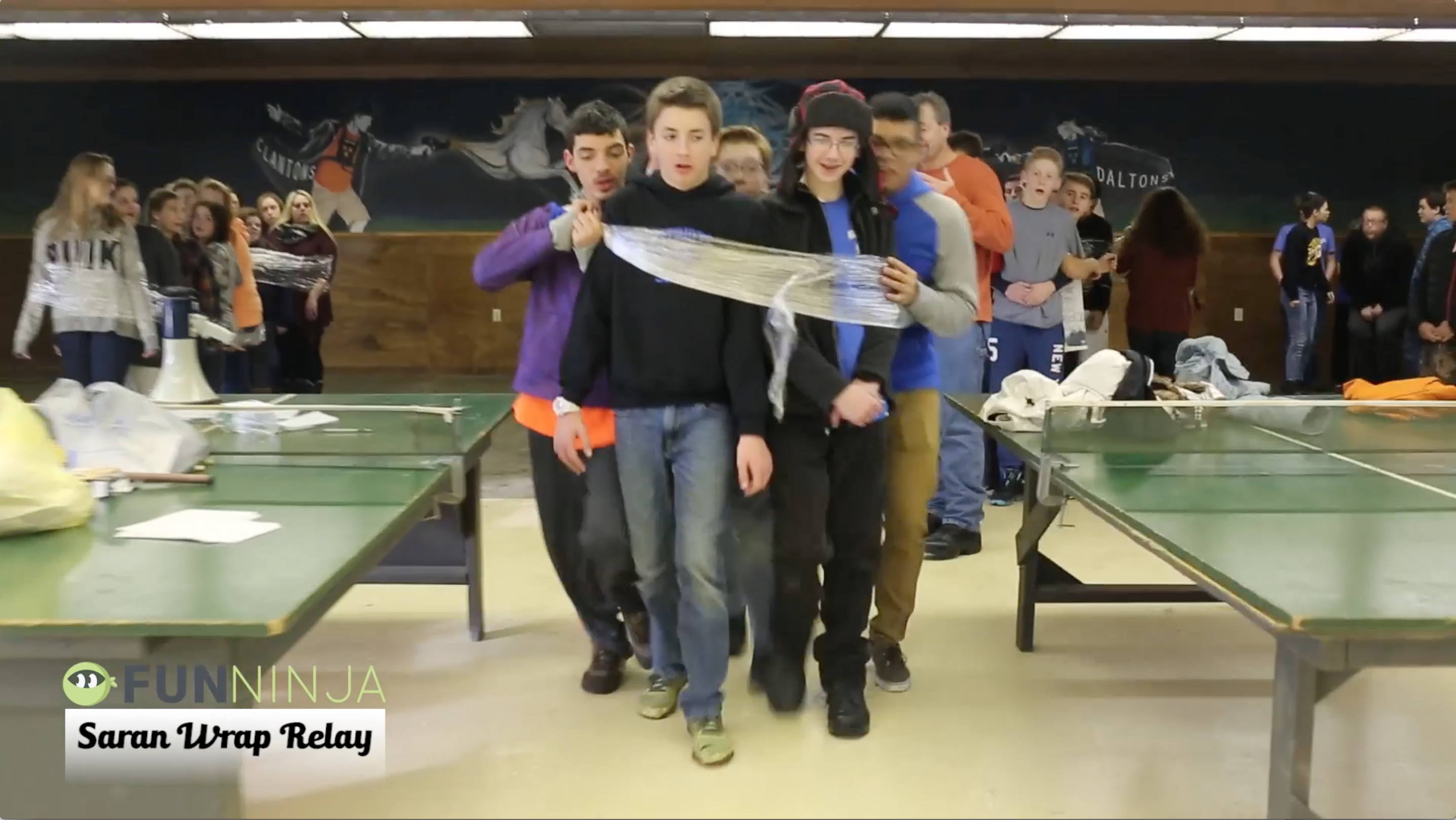 Saran Wrap Relay: Youth Group Games - Stuff You Can Use