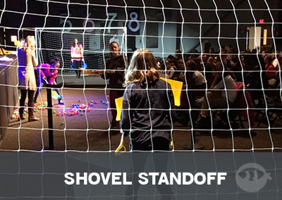 Shovel Standoff