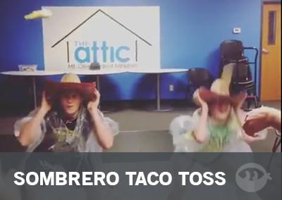 Sombrero Taco Toss