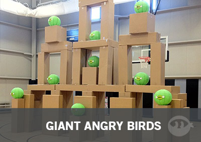 Giant Angry Birds