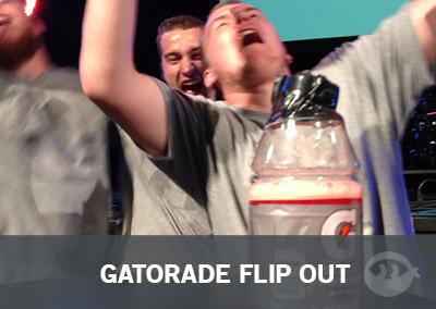 Gatorade Flip Out