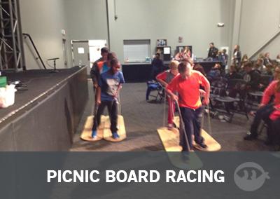 Picnic Board Racing