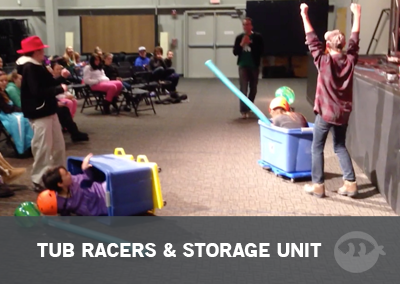 How To Build Tub Racers & Storage Units