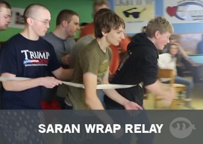 Saran Wrap Relay