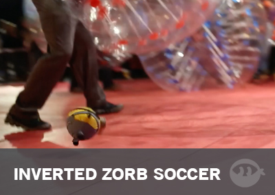 Inverted Zorb Soccer