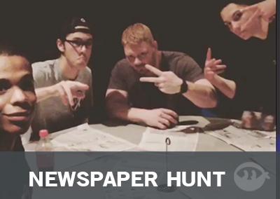 Newspaper Hunt